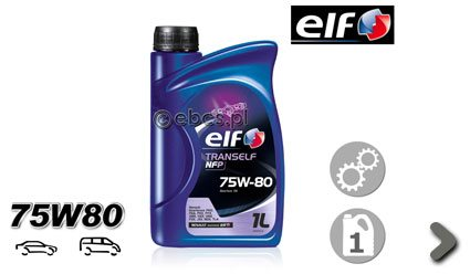 Olej przekładniowy ELF NFP 75W80