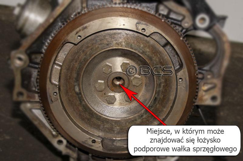 Łożysko podtrzymujące wałek sprzęgłowy skrzyni biegów - skrzynie.com.pl